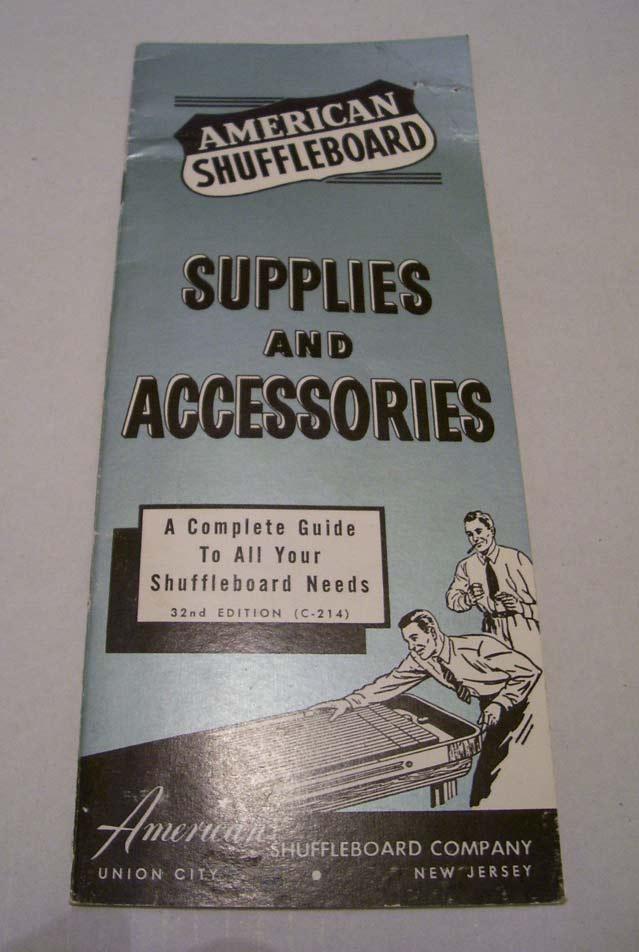 shuffleboard brochure american shuffleboard table weights, caps and accessories american shuffleboard wiring diagram at soozxer.org